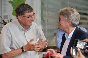 Alain Kempf et Jean-Claude Mailly
