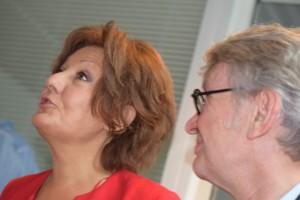 Françoise Chazaud & Jean-Claude Mailly dans une belle complicité