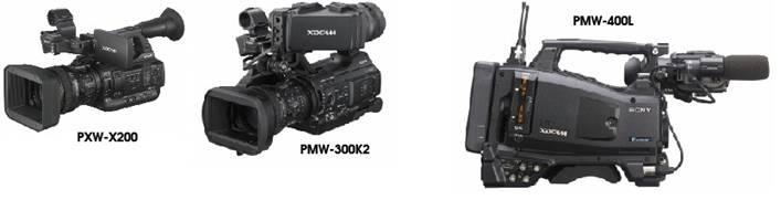 Renouvellement parc caméras - Sony