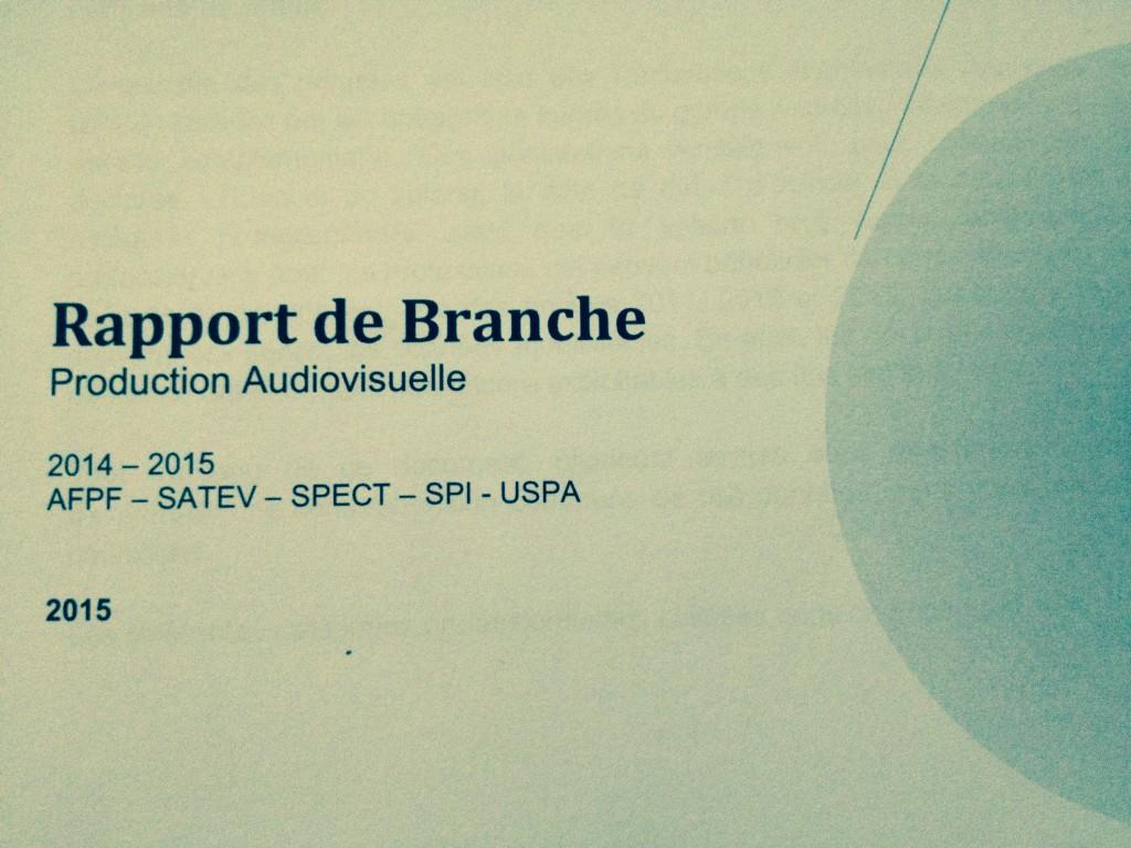 rapport de branche