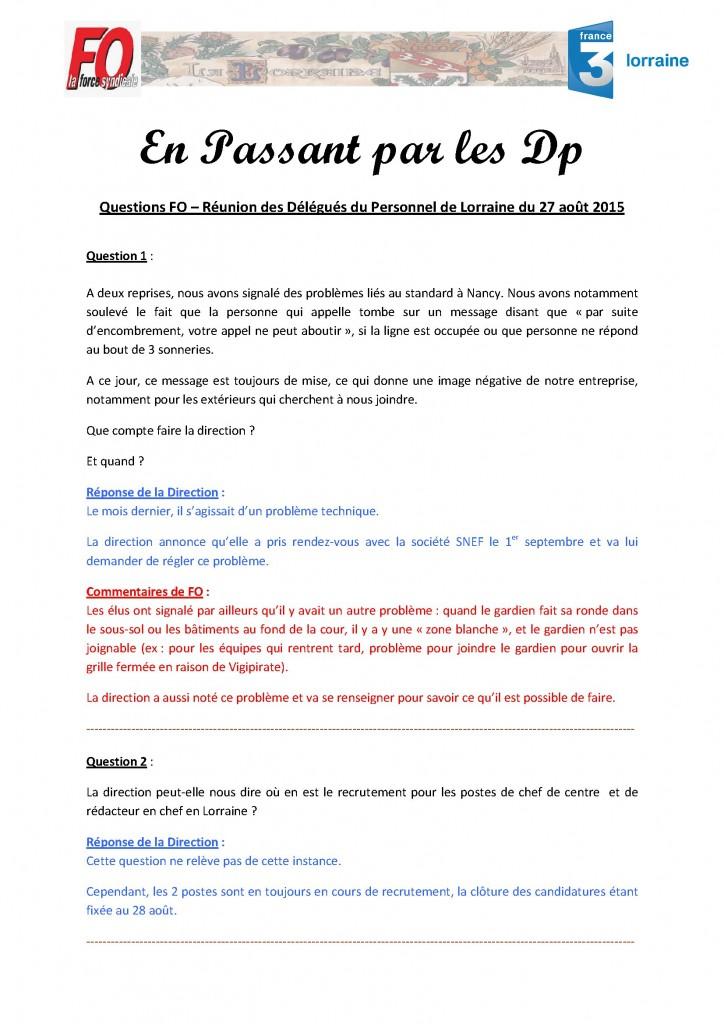 Questions DP F3 Lorraine - Aout 2015 (1)
