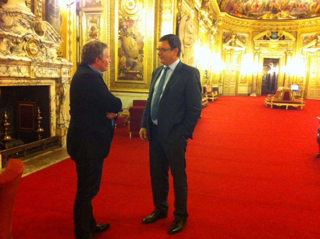 Eric Vial Force Ouvrière & Claude Kern Sénat