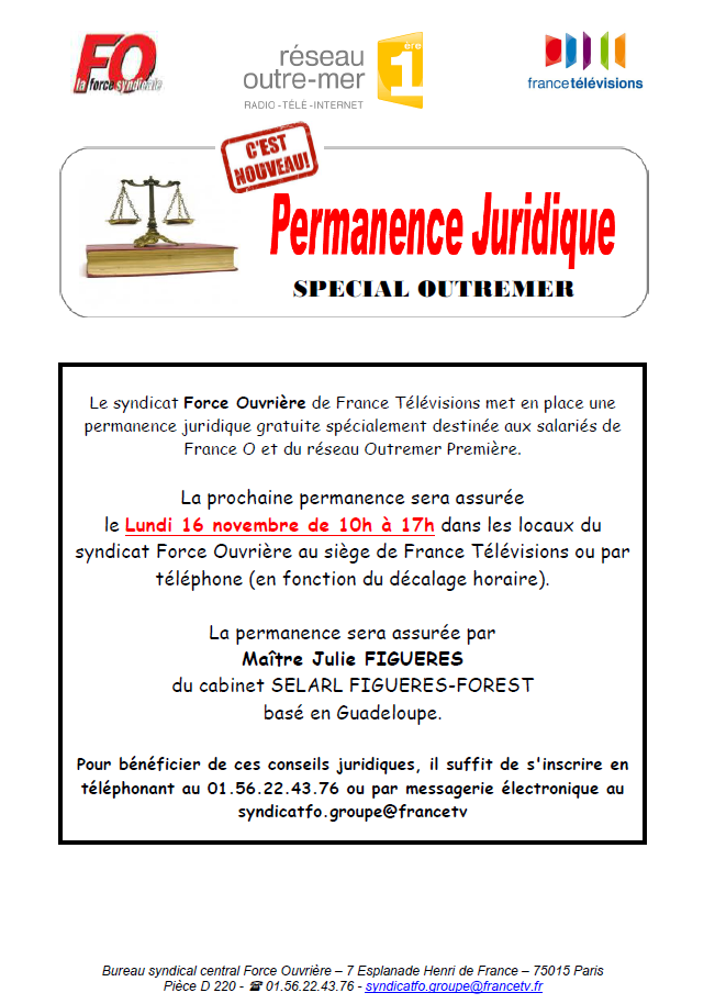 permanence juridique outremer