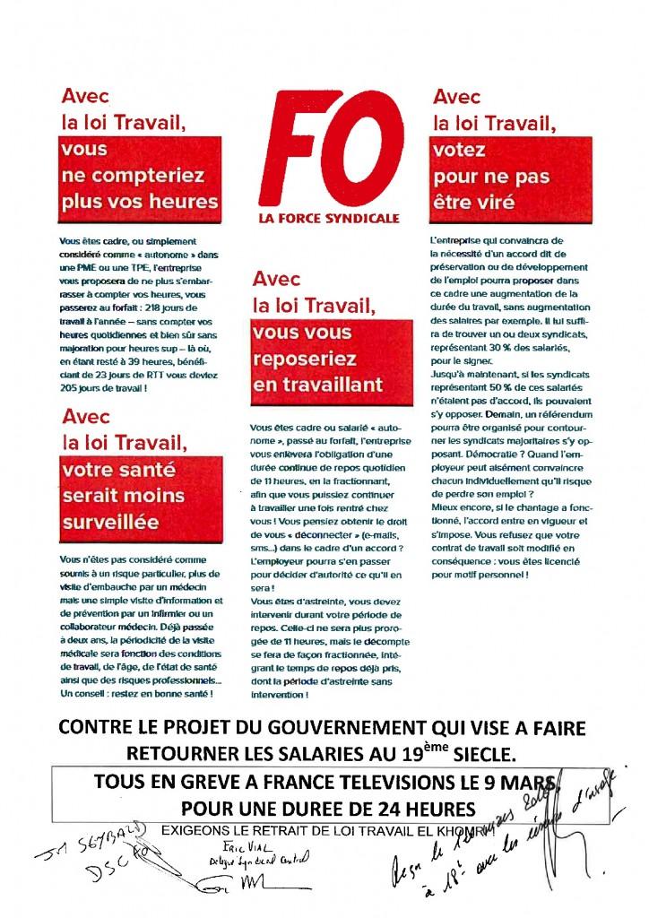 Préavis de grève Loi Travail El Khomri (2)