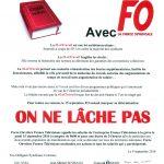 Loi Travail – Manifestation le mercredi 15 septembre.