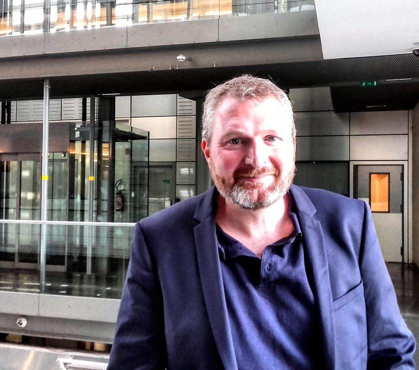 Eric Vial secrétaire général de FO Médias - SNFORT