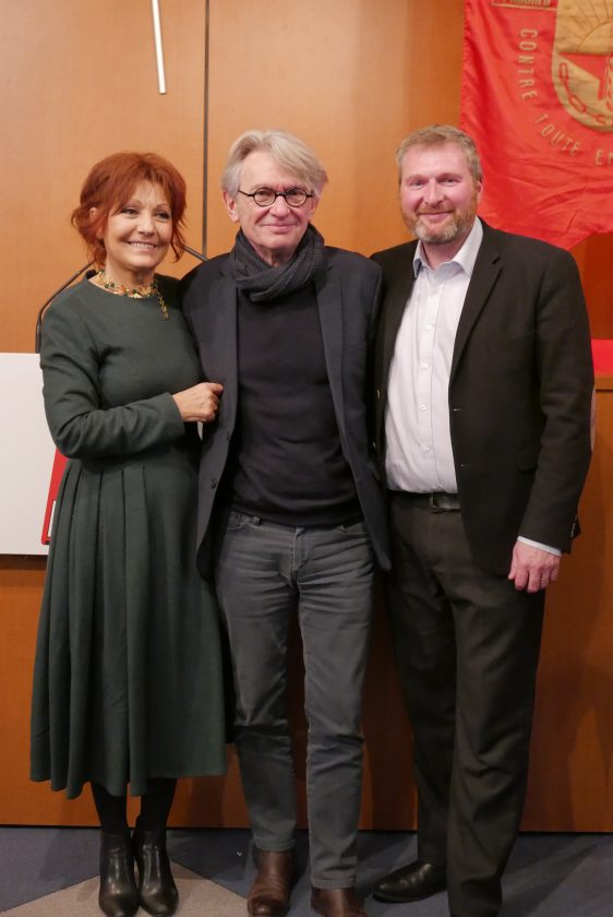 Francoise Chazaud; Eric Vial; Jean-Claude Mailly FO