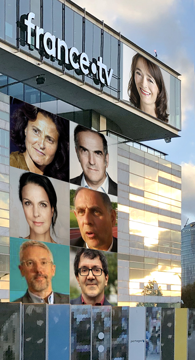 les candidats à la présidence de france•tv